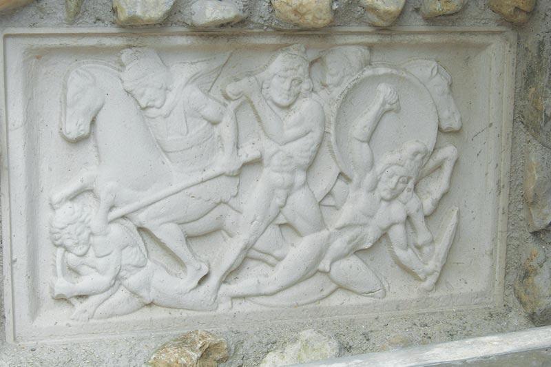 Battaglia romana in bassorilievo